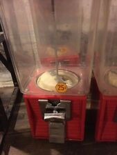 Northwestern Louvered Front Super 60 Gumball Candy Toy Bulk Vending Machine