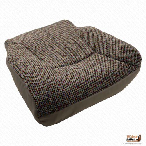 2002 Dodge Ram 3500 SLT Driver Bottom Mist Gray Cloth Seat Cover /& Foam Cushion