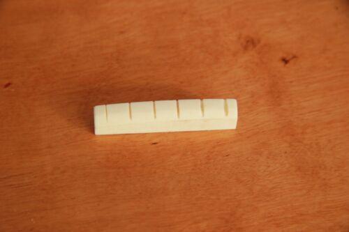 KNOCHEN SATTEL BONE NUT f.MARTIN® ACOUSTIC WESTERN DREADNOUGHT 43 44 45 46 47 mm