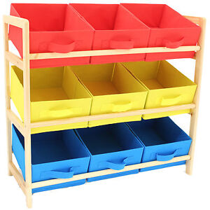 Hartleys-3-Tier-Storage-Shelf-Unit-Kids-Childrens-Bedroom-Nursery-Boxes-Drawers