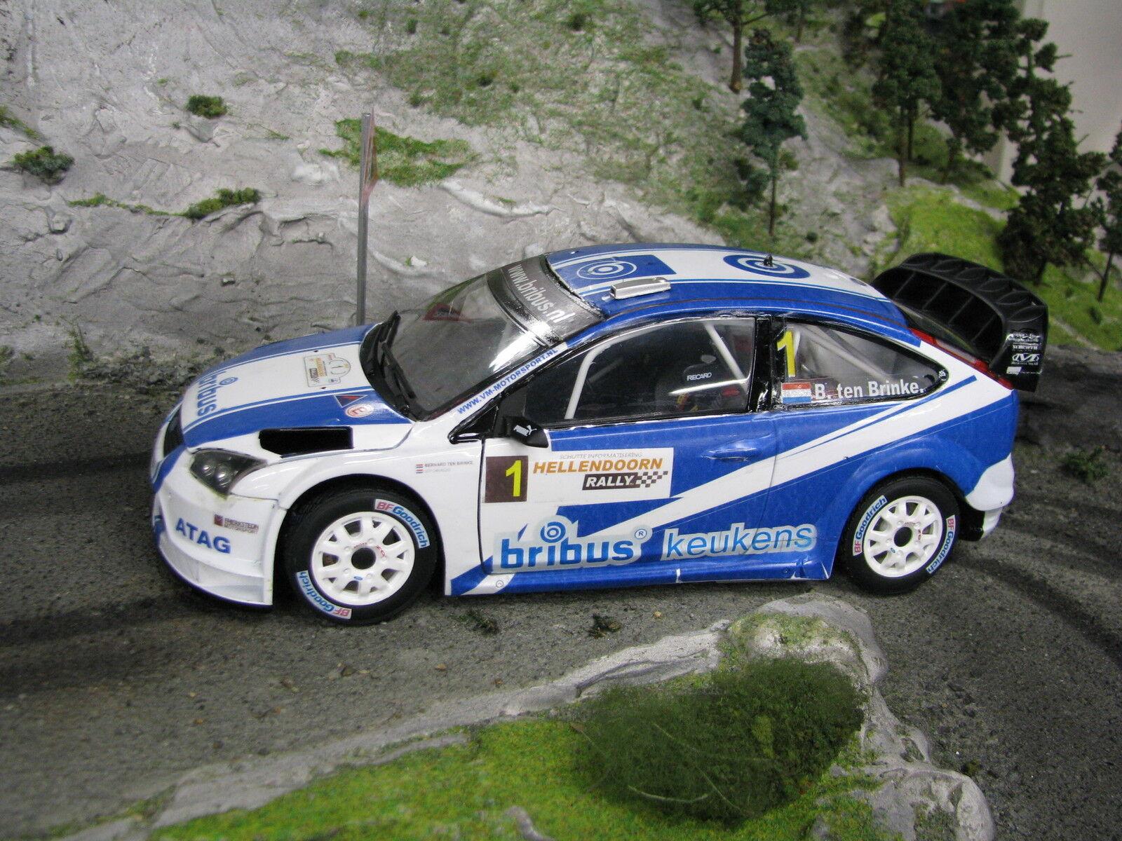 Sun Star Ford Focus RS WRC 08 1 18  1 Ten Brinke   Chevallier Hellendoorn 2010