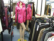 Joseph Ribkoff BNWT UK 10 Stunning Crinkle Fuchsia Pink Gold Buckle Jacket /Coat