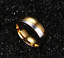 Coppia-Fedi-Fede-Fedine-Anello-Anelli-Fidanzamento-Nuziali-Cristallo-Oro-Acciaio miniatura 5