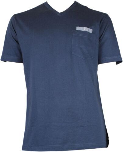 2XL Schiesser Herren Pyjama Schlafanzug Oberteil T-Shirt Mix /& Relax HO137  56