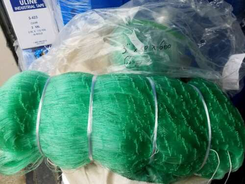 Gill net 2 3//4 inch 50 mesh 600ft Mono #139 Twine size Premium fishing nets