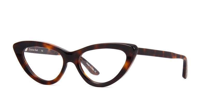 CHRISTIAN ROTH FIRI Eyewear Model.CRX002 Color.Tortoise Size 53 BRAND-NEW