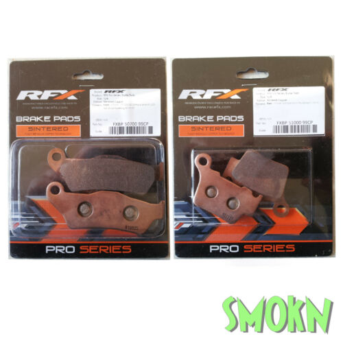 RFX Front /& Rear Brake Pads fit KTM SX-F 505 525 530 EXC-F XC-F 04-19 Sintered