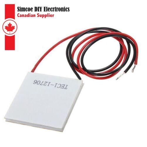 1PCS TEC1 12706 12V 6A TEC Thermoelectric Cooler Peltier #292 TEC1-12706