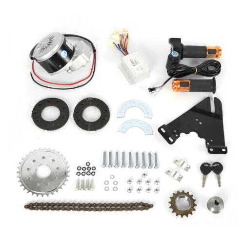 24V 250W Electric Conversion Kit Bike Left Chain Drive Custom w//Freewheel 250W