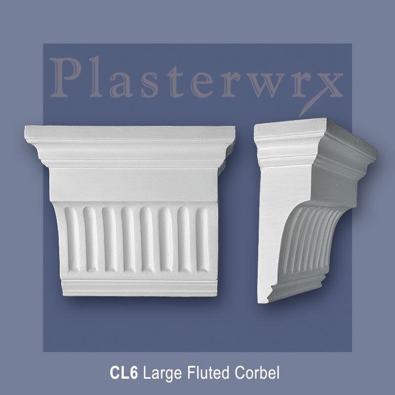 GRANDE scanalata Intonaco Corbel (CL6) plasterwrx qualità REGGIMENSOLE