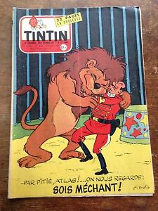 journal-tintin-462-France-1957-couv-Tibet