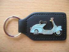 Schlüsselanhänger Vespa Oldtimer hellblau light blue Roller Art. 1090 Scooter