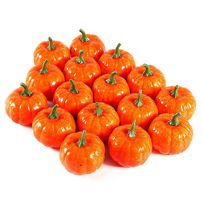 6cm*7cm Mini Artificial Pumpkin Halloween Decoration