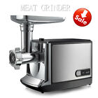 2000W Electric Stainless Steel Industrial Meat Grinder Butcher 3x Cutting plates