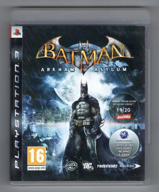 JEU PS3 ★ BATMAN ARKHAM ASYLUM ★ SONY PLAYSTATION 3 ★ COMPLET