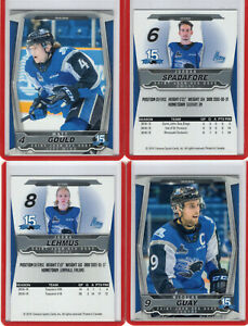 2019-20-SAINT-JOHN-SEA-DOGS-QMJHL-Team-Set-Single-Cards-U-Pick