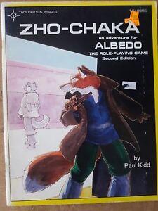 Zho-chaka Une aventure pour Albedo Rpg 2e édition - Pensées et images utilisées