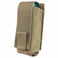 Condor Ma78 Tactical Tan Molle Belt Mounted Pepper Spray Oc Flashlight Pouch