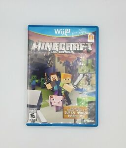 Minecraft Wii U Edition (Nintendo Wii U) *TESTED, Free Shipping