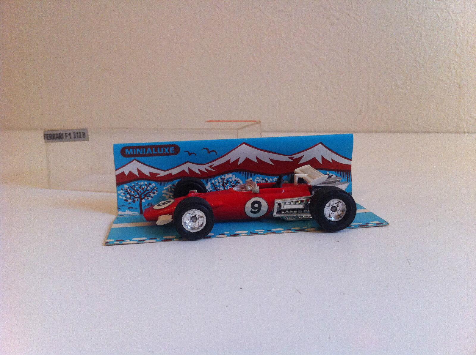 Minialuxe - Ferrari F1 312B en plastique (1 43)