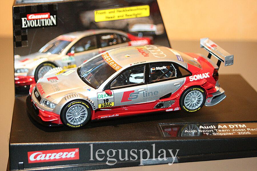 Slot car SCX Scalextric Carrera 27128 Evolution Audi A4 DTM audi Sport Team
