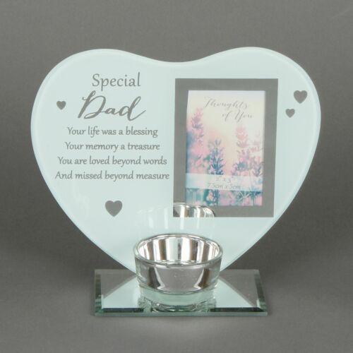 Thoughts of You /'Dad/' Heart Tealight Holder