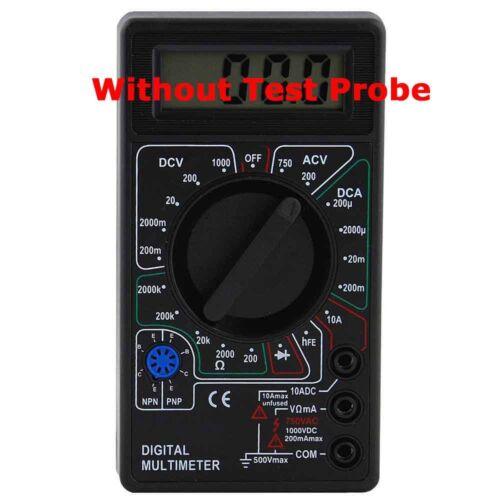 Digital Multimeter AC DC Voltage Auto Volt Multi Meter Tester 10 Amp Current Ohm