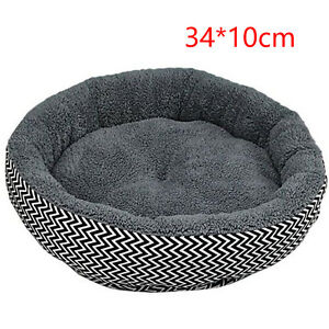 Hotsale Warm Round Bed Soft Kitten Puppy House Pets Mat Sofa For Small Dogs