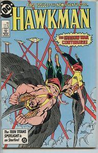 Hawkman-1986-series-1-very-fine-comic-book