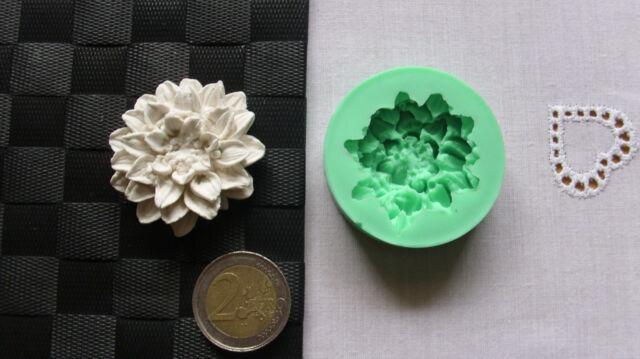Silikonform Blume / Seifenform / Basteln / Hobby / Gießform NEU