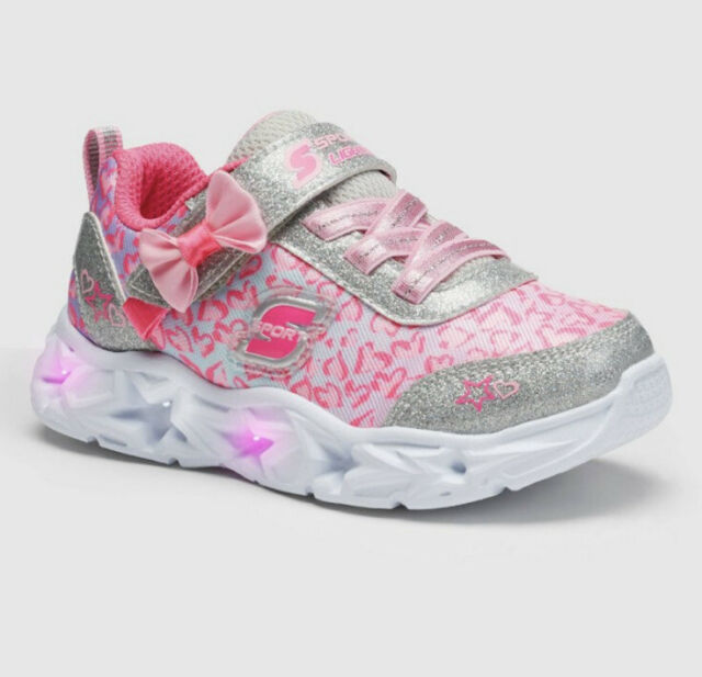 Toddler Girls' S Sport by Skechers Olyvia Light-Up Sneakers - Pink Size 11