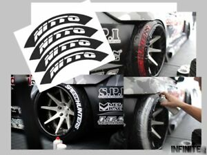Nitto Tires With White Lettering >> Details About Tire Sticker Stencil Bomb Tire Lettering Tire White Sticker Nitto Stencil