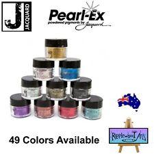 Jacquard PEARL EX - POWDER PIGMENTS - 49 Colors Available  -  3gm Jars