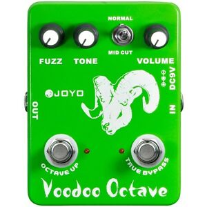 Joyo-JF-12-Voodoo-Octave-Divider-amp-Fuzz-Combination-Guitar-Dual-Effects-Pedal