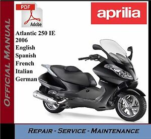 image is loading aprilia-atlantic-250-ie-2006-workshop-service-repair-