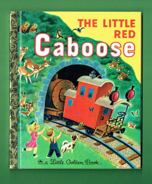 #FF.   LITTLE GOLDEN BOOK -  THE LITTLE RED CABOOSE
