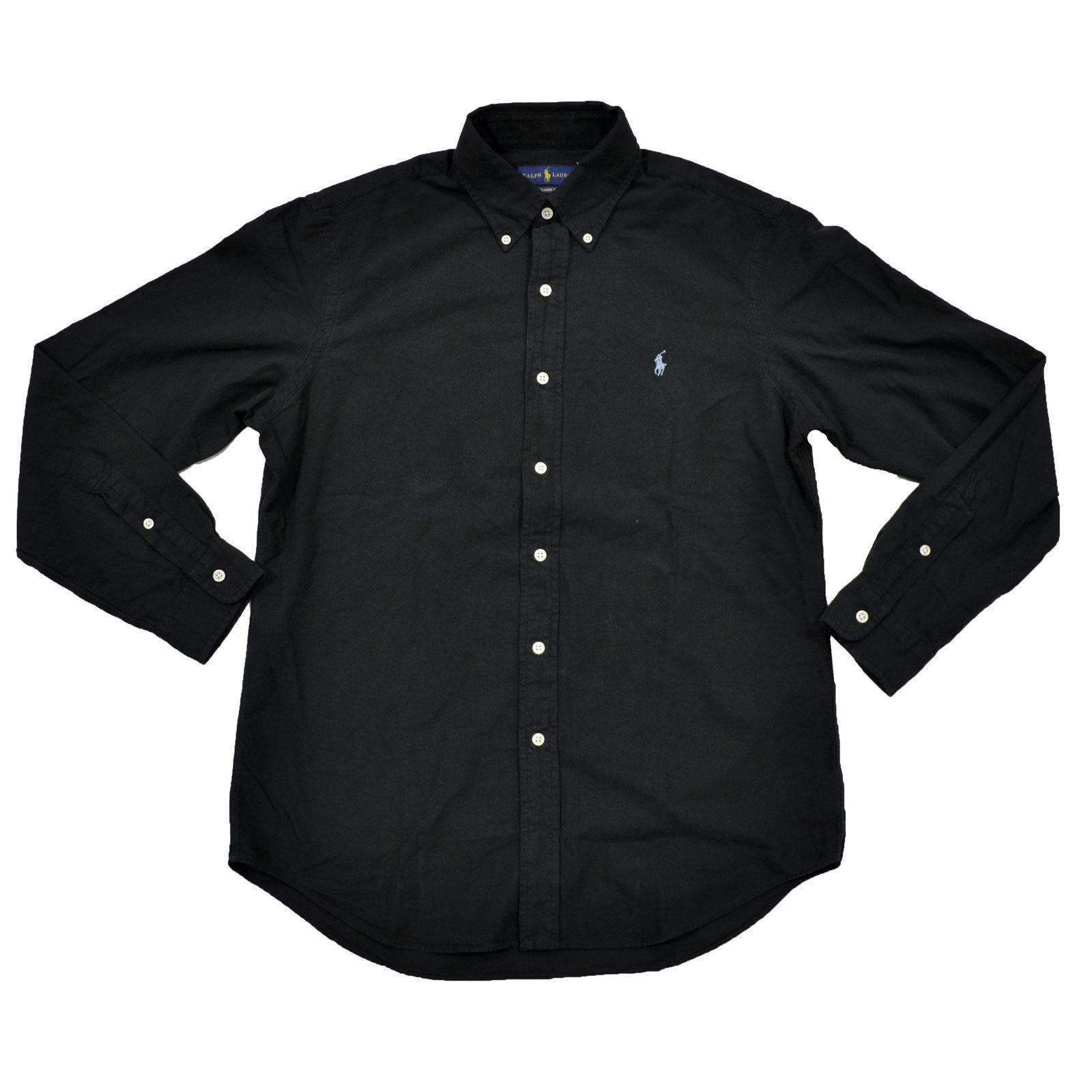 Ralph Lauren Oxford Shirt Classic Fit Garment Dyed Long Sleeve Button Down