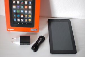 Amazon-Fire-7-Tablet-7-Zoll-WLAN-8-GB-Schwarz-Tablet-PC-Comuter-Pad-Tab