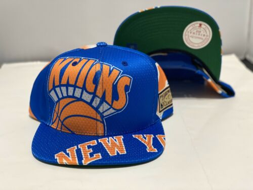 Mitchell And Ness Big Face New York Knicks Snapback