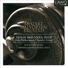 Mozart, Halvorsen, Brustad: Violin and Viola Duos (CD, Feb-2012, Lawo Classics)