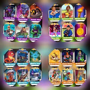 Spirit-amp-Sport-amp-Fairy-Tale-amp-Supervillains-Full-Sets-Coin-Master-Cards
