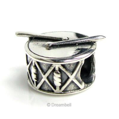 Sterling Silver Barrel Cross Holy Inspirational Bead for European Charm Bracelet