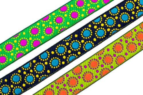 """03 Cm wide By The Yard Jacquard Trim Woven Border Sew Ribbon T275 1.18/"""""""