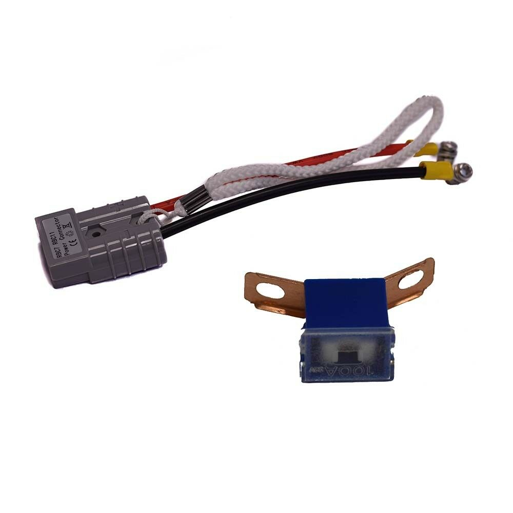 8 Pack SPS Brand Complete Wire Harness with Terminal Covers and Fuse for APC SmartUPS SU3000INET RBC11 Battery Cartridge