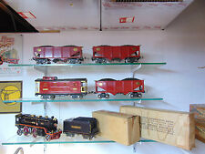 Lionel original prewar coal train set #393 in excellent c-7 plus condition