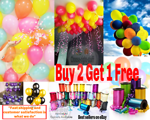 20-X-Latex-PLAIN-BALOON-BALLONS-helium-BALLOONS-Quality-Party-Birthday-Party-CRS