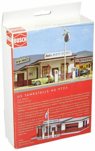 Busch 9723 Gas Station Kit H0 For Sale Online Ebay