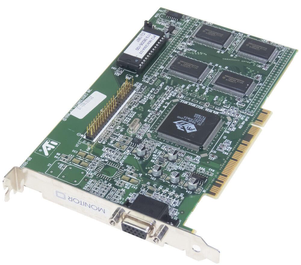 ATI 3D RAGE II PCI 4MB 109-40100-00 GRAPHICS CARD