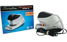 Swingline Optima 45 Electric Stapler 45 Sheets Capacity 48209 Staple Remover