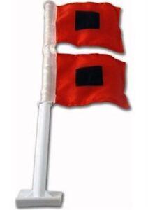 MIAMI-HURRICANES-Hurricane-Warning-Nylon-Car-Flag-NCAA-Licensed-Product-USA-Made